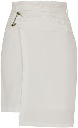 Topshop **Silk Wrap Skirt by Unique