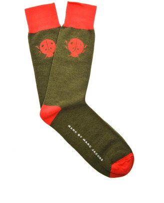 Marc by Marc Jacobs Ladybug-print socks