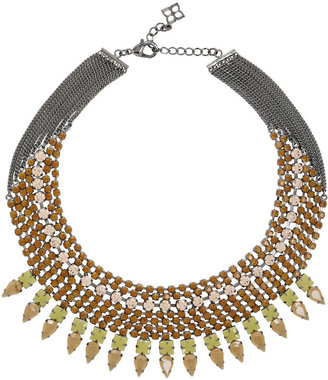 BCBGMAXAZRIA Jeweled Spike Necklace