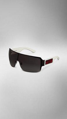 Burberry Oversize Visor Sunglasses